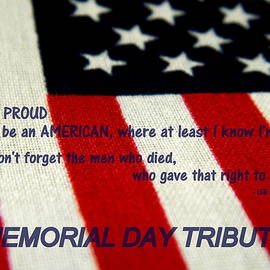 Arlane Crump - Memorial Day Tribute