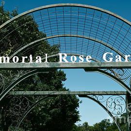 Gary Richards - Memorial Rose Garden