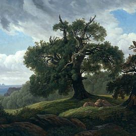 Memory of a Wooded Island in the Baltic Sea - Carl Gustav Carus