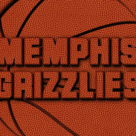 MEMPHIS GRIZZLIES LEATHER ART - Joe Hamilton