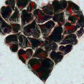 Sir Josef  Putsche - Mending A - Broken Heart - Painting