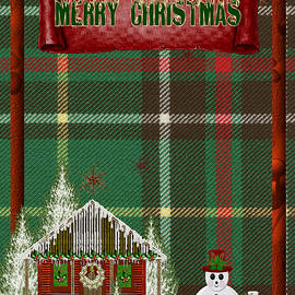 Vickie Emms - Merry Christmas Newfoundland Card