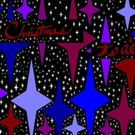 Linda Velasquez - Merry Christmas To All, Starry, Starry Night