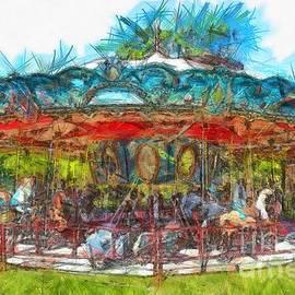 Merry Go Round Pencil - Edward Fielding
