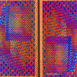 Tom Janca - Metal Panel Abstract