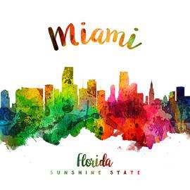Miami Florida 24 - Aged Pixel