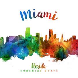 Miami Florida 25 - Aged Pixel