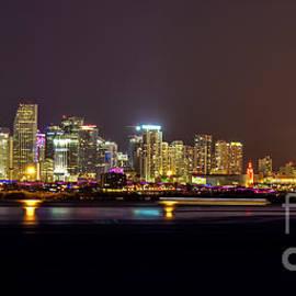 Rene Triay Photography - Miami Skyline at Dusk