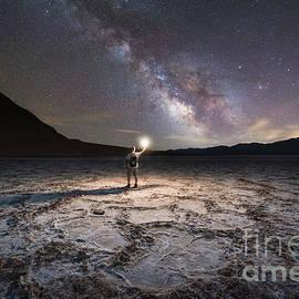 Michael Ver Sprill - Midnight Explorer at Badwater Basin