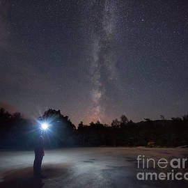 Michael Ver Sprill - Midnight Explorer at the Adirondack Mountains
