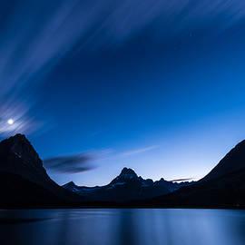 Steve Gadomski - Midnight Over Glacier National Park