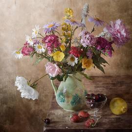 Nikolay Panov - Midsummer Garden Flowers