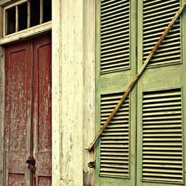 Kathy Barney - Milk Painted Door and Window