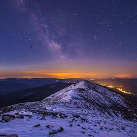 Christopher Whiton - Milky Way over Franconia Ridge