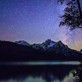Vishwanath Bhat - Milkyway over Mount Mc Gowan at Stanley Lake in Idaho