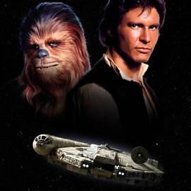 Han Solo - Millenium Falcon - Paul Tagliamonte