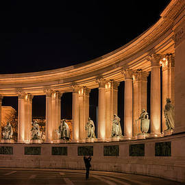 Joan Carroll - Millennium Monument Colonnade Color