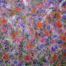 Kathy  Symonds - Mind Garden-2 abstract painting