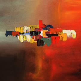 Carmen Guedez - Mindful - Abstract Art