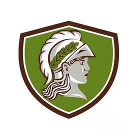 Aloysius Patrimonio - Minerva Head Crest Retro