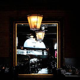 Cynthia Guinn - Mirror In Restaurant