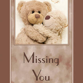 JH Designs - Missing You Cuddle Bears