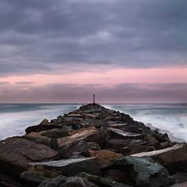 William Dunigan - Mission Beach Jetty Sunrise