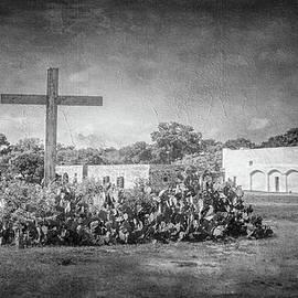 Joan Carroll - Mission San Juan Capistrano BW