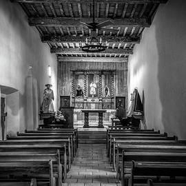 Joan Carroll - Mission San Juan Capistrano Texas BW