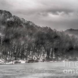 Thomas R Fletcher - Mist and Ice on Lake