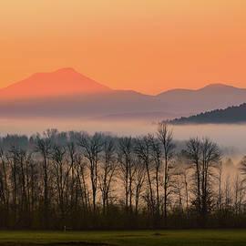 Alan Brown - Misty mountain sunrise