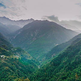 V Naveen  Kumar - Misty Mountains