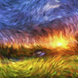 Georgiana Romanovna - Modern Landscape Van Gogh Style
