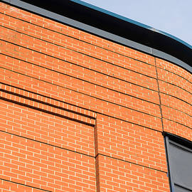 Modern red brick building - Tom Gowanlock