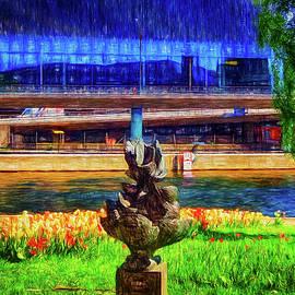 Ramon Martinez - Modern sculpture in Stockhom