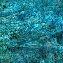 Modern Turquoise Art - Deep Mystery - Sharon Cummings - Sharon Cummings