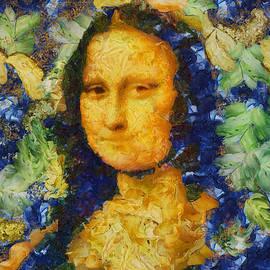 Sir Josef Putsche - Mona Lisa - Oil Detail