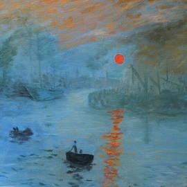 DG Ewing - Monet Sunrise by DG