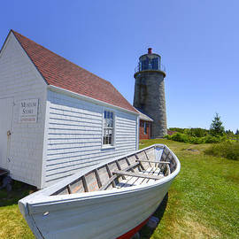 Mary Ann Tardif - Monhegal Lighthouse Maine