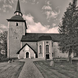 Leif Sohlman - Monochrome Enkopingsnas Church May