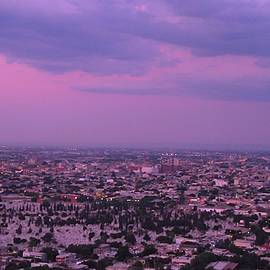 Sheela Ajith - Monterrey City At Dusk