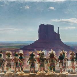 Priscilla Burgers - Monument Valley Kachina Dolls