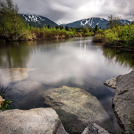 Pierre Leclerc Photography - Moody River Of Golden Dreams