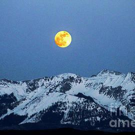 Dale E Jackson - Moon Over Mt Gunnison Colorado