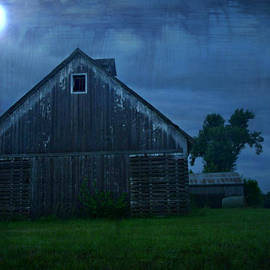Kathy Krause - Moonlight Corn Crib