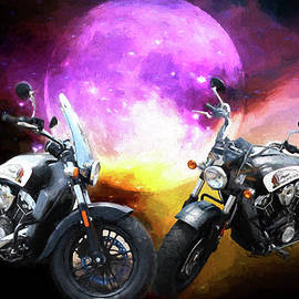 EricaMaxine  Price - Moonlit Indian Motorcycle