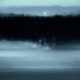 Moonrise on the Water - Scott Norris