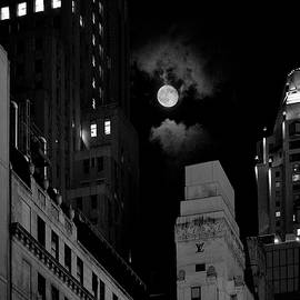 Kenneth Laurence  Neal - Moonrise over 57th Street