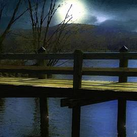 RC deWinter - Moonrise over the River