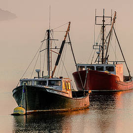 Marty Saccone - Moored At First Light
